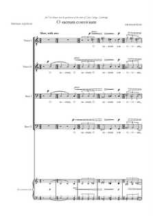 O sacrum convivium (revised)