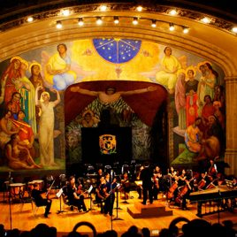 Anfiteatro Símon Bolívar, MEXICO CITY: 'There is sweet music'