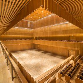 Chamber Hall, Shanghai Symphony Hall, CHINA