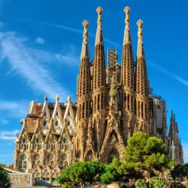 Crypt of the Basílica de la Sagrada Família, Barcelona, SPAIN: Mass and Concert